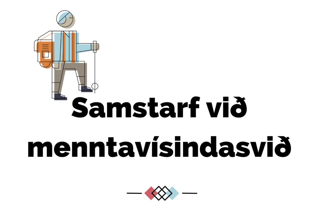 Samstarf við menntavísindasvið